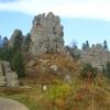 Фортеця Тустань, Кам'янецький водоспад та Журавлине озеро
