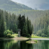 Озеро Синевир і водоспад Шипіт