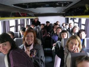 В автобусі